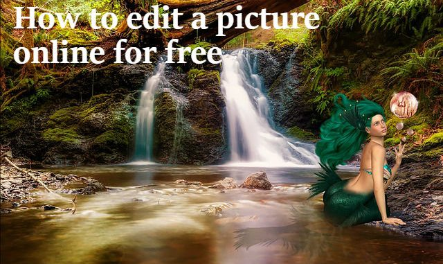 how to edit pictures online for free